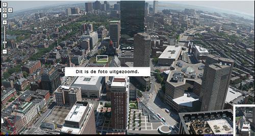Boston uitvergroot