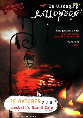 Halloween* bij Liesbeth's Grand Café in Horst